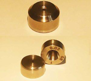 Ugelli speciali in diamante SSCD per microspruzzatura ad alta pressione e nano-tech e Micro ugelli in diamante SSCD