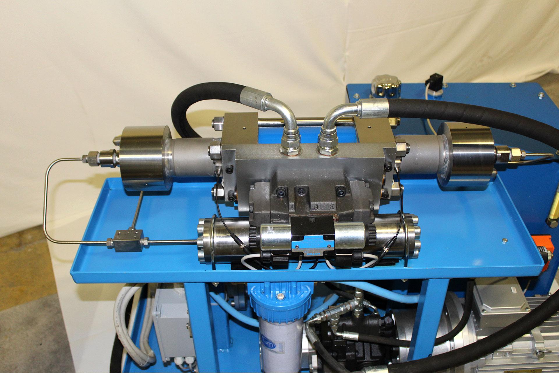 Gardella srl - Miniwaterjet (pump - detail)